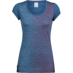 Icebreaker Sphere Cool Relief t-shirt Dames blauw